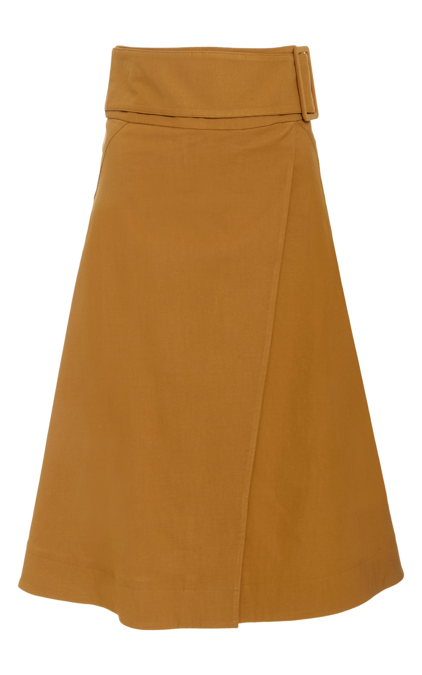 Belted A-line Wrap Skirt by Sea | Moda Operandi