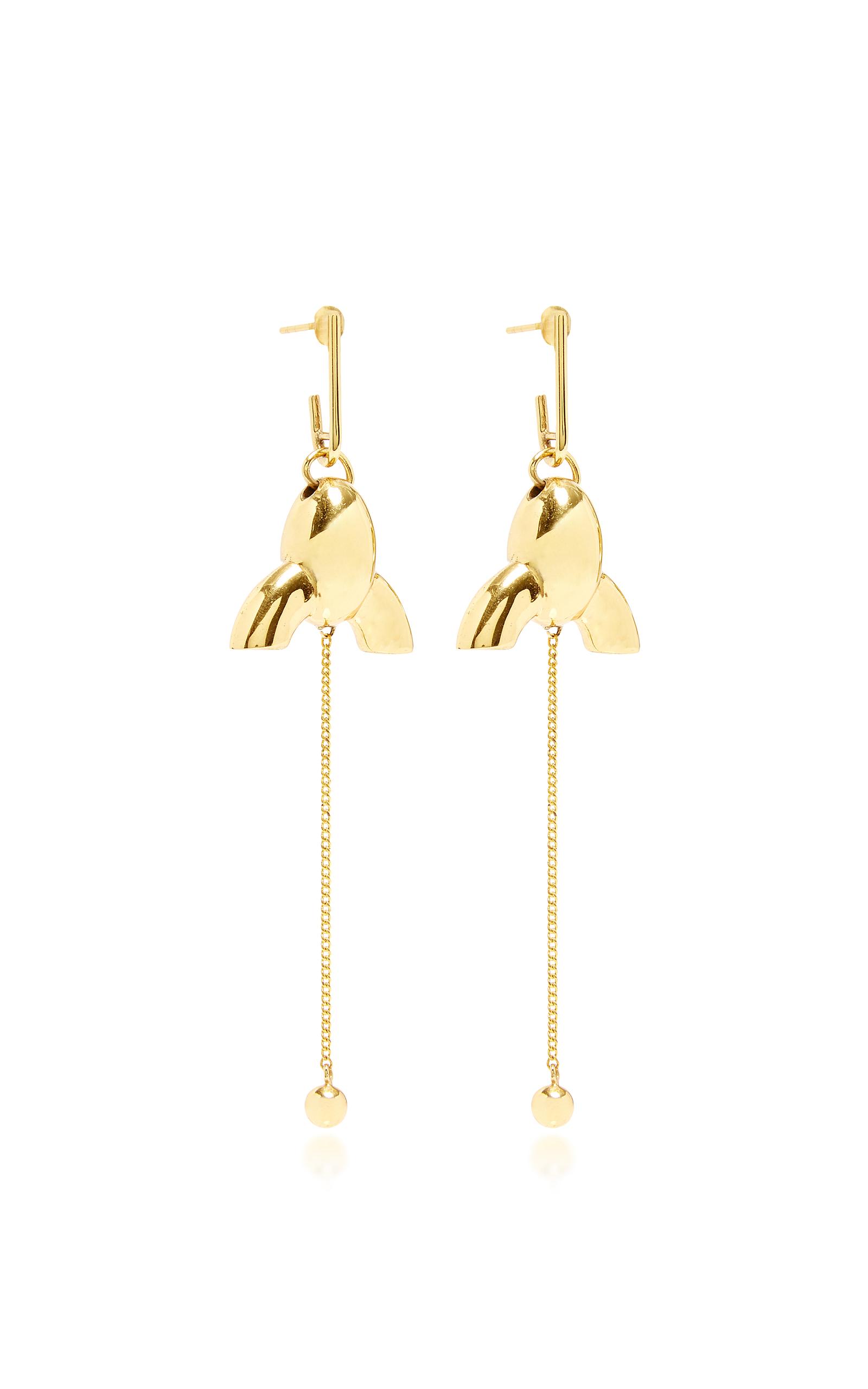 Village gate small chandelier earrings by ellery moda operandi loading aloadofball Gallery