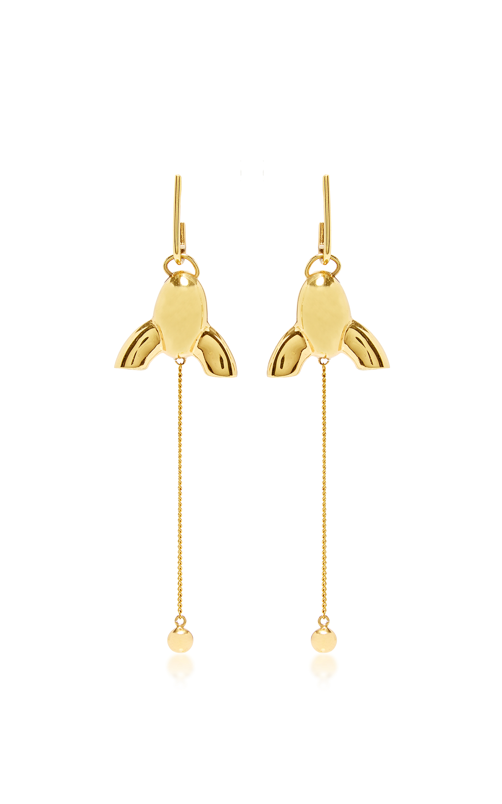 Village gate small chandelier earrings by ellery moda operandi loading aloadofball Image collections
