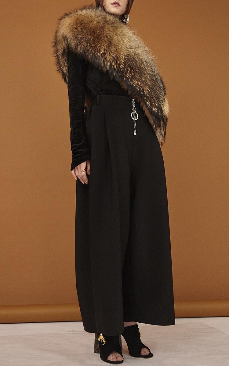 Fox fur stole by ellery moda operandi - Polsterstoffe fur stuhle ...
