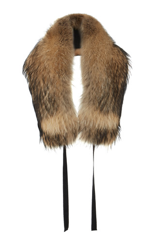 Medium ellery brown fox fur stole