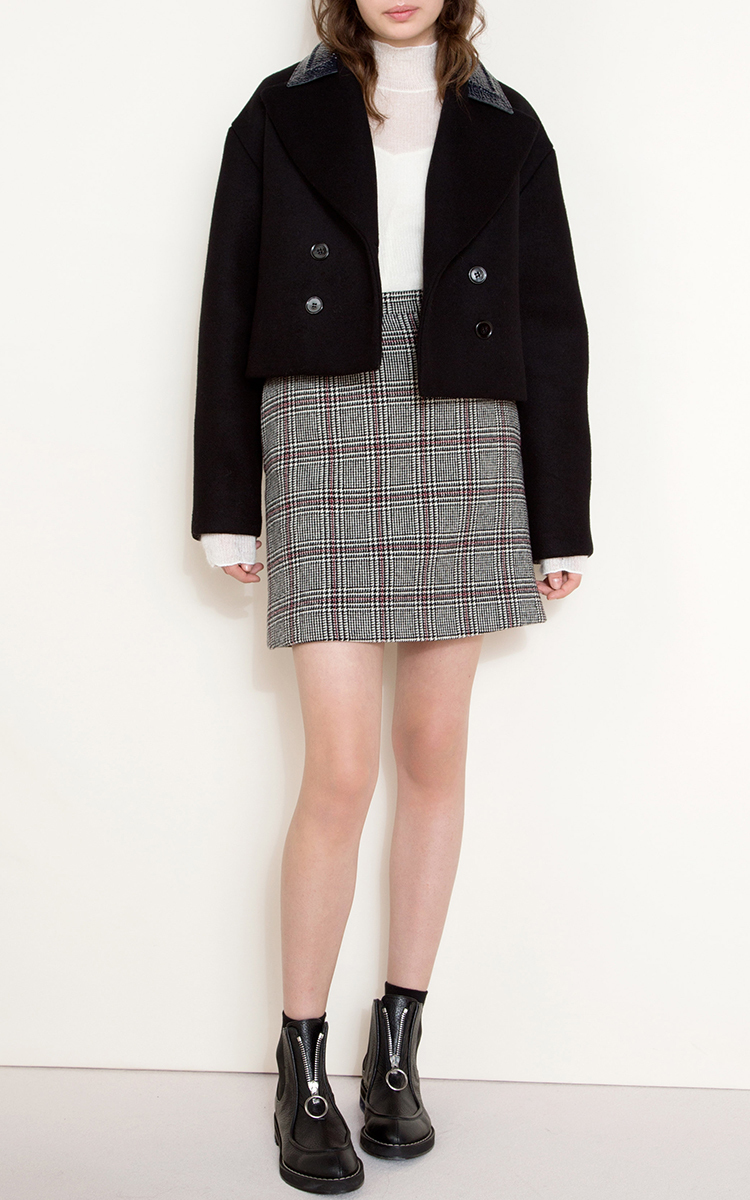 From China Cheap Online Clearance Footlocker Carven Plaid Mini Skirt Sneakernews Sale Online Free Shipping Excellent 518LjWXl