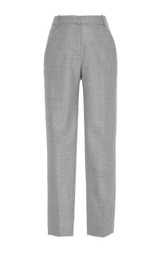 Medium carven grey cropped straight leg pants