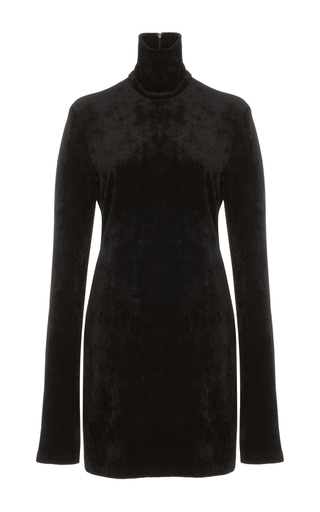 Medium ellery black abigal long sleeve dress