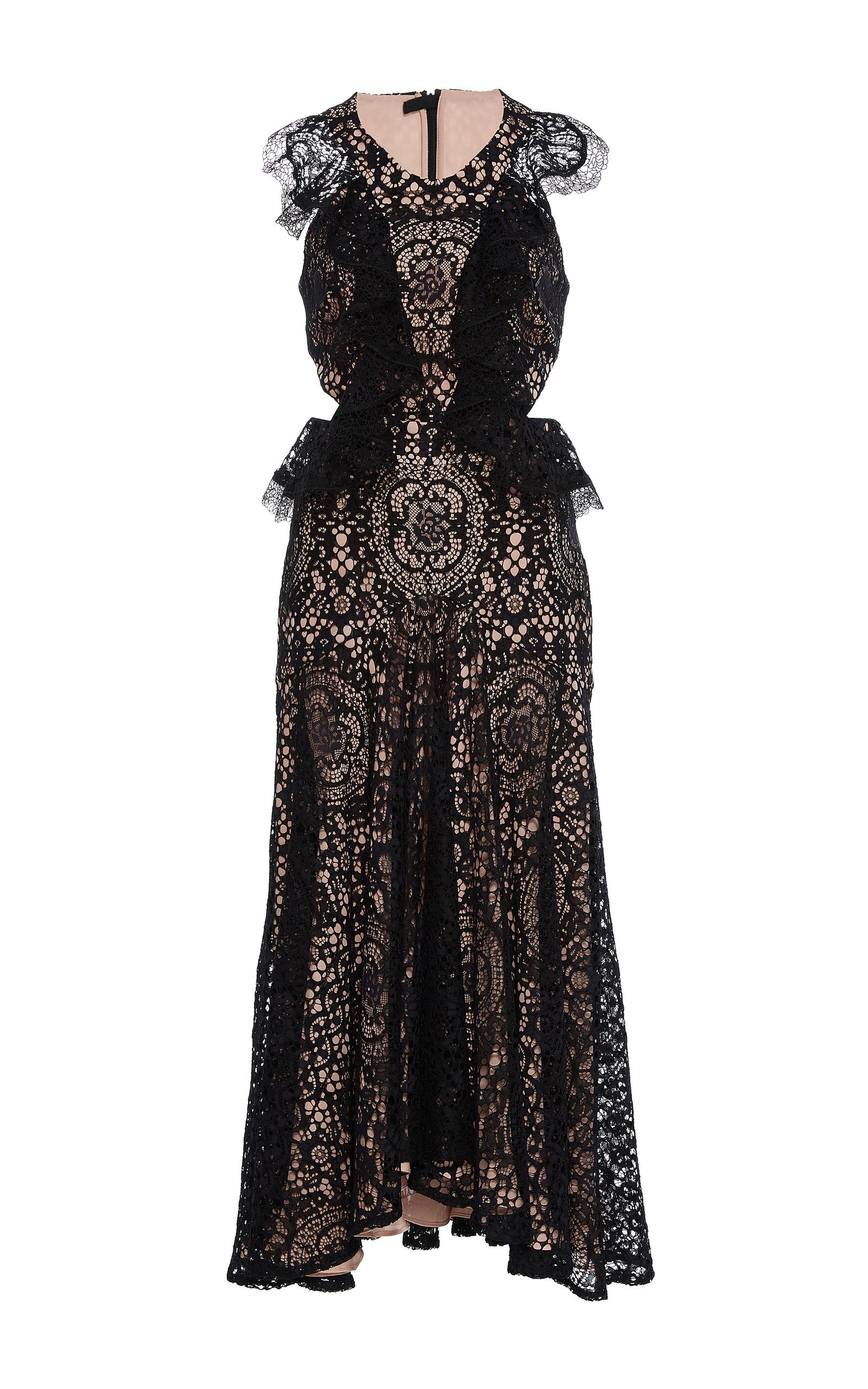 Alexis vincent lace dress