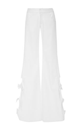 Medium alexis white alexander bow pant