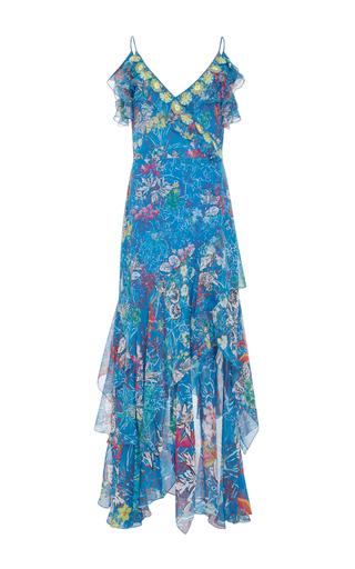 Medium peter pilotto print floral print georgette maxi dress