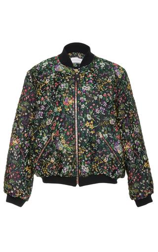 Medium alexis mabille floral floral bomber jacket