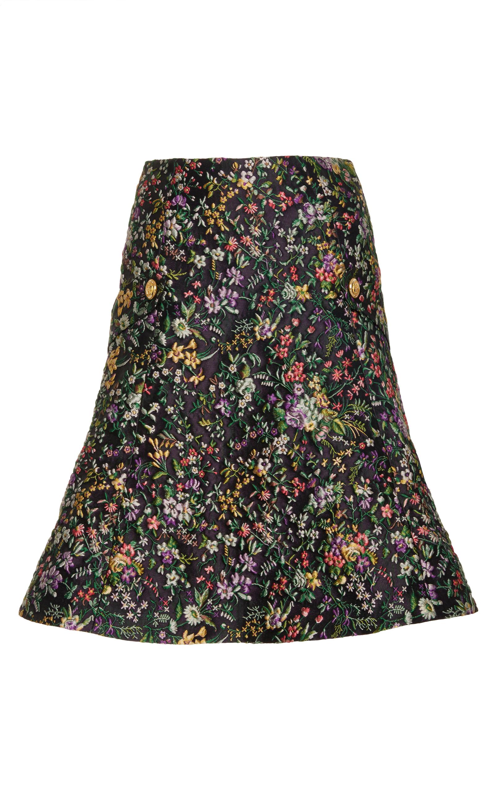 floral a line skirt by mabille moda operandi