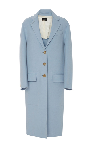 Medium joseph blue wool coat
