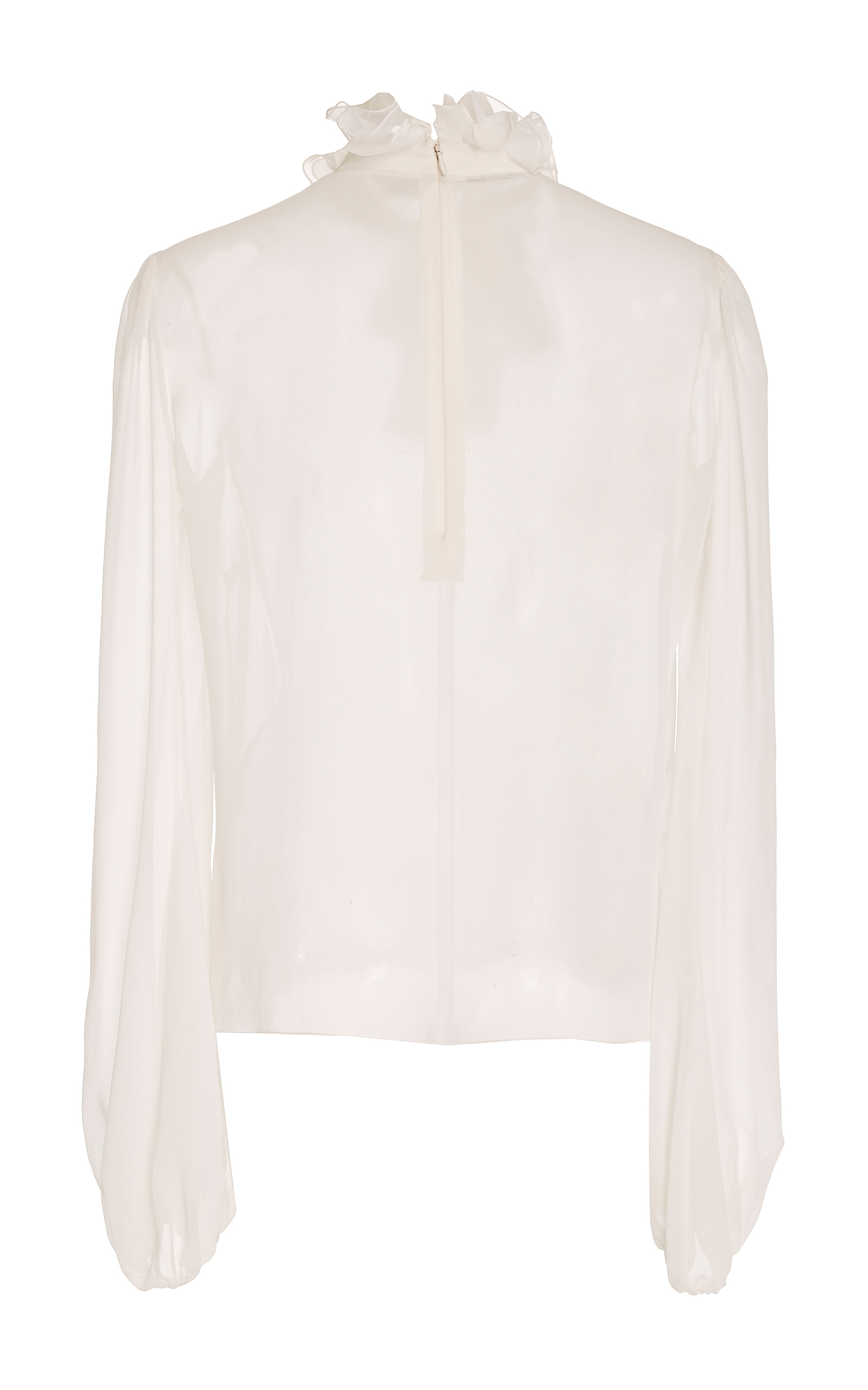 Bell Sleeve Cotton Blouse Giambattista Valli Outlet Recommend wrGozG