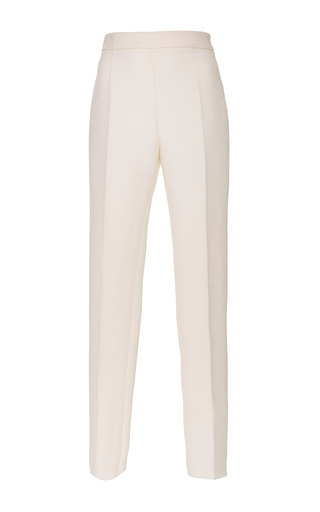 Medium giambattista valli white cropped slim trousers