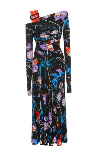 Emilio PucciPrinted Asymmetric Stretch-Jersey Dress b9af900af