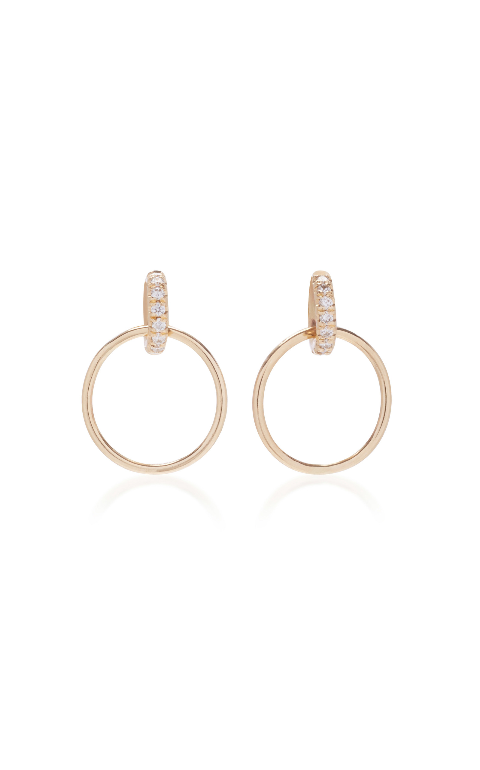 us hoop gold earrings s jewellery claire