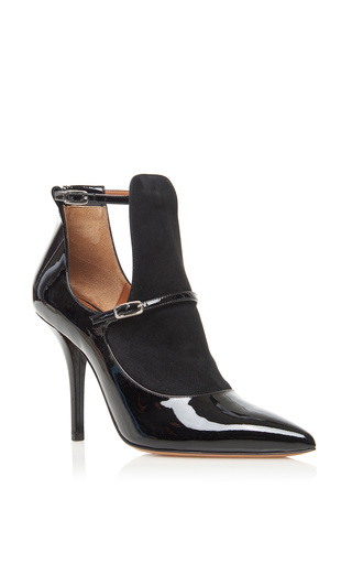 Medium givenchy black feminine line ankle boot