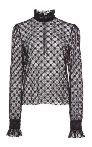 Ruffled Cuff Lace Blouse by Philosophy di Lorenzo Serafini | Moda Operandi