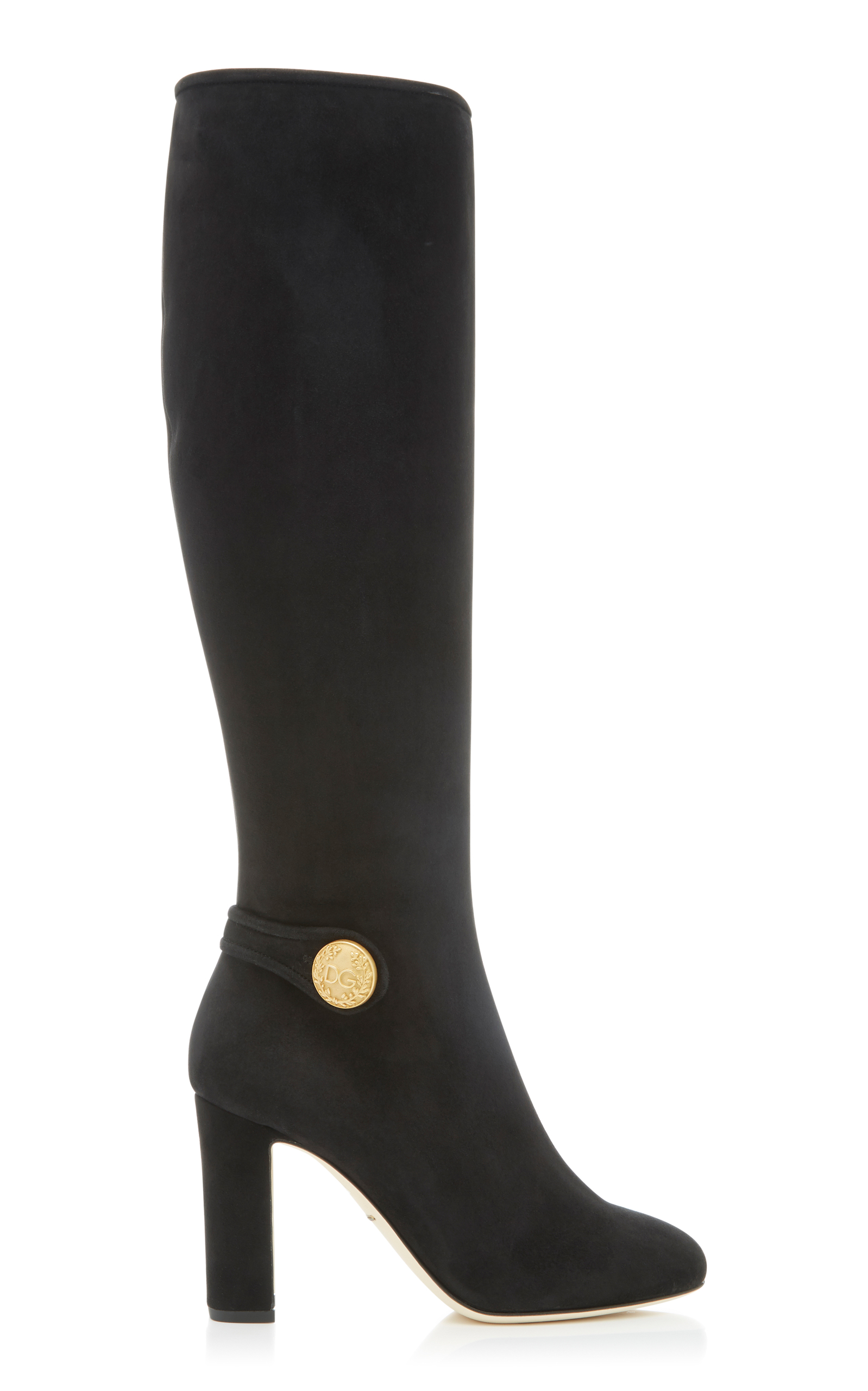 STRETCH-SUEDE BOOTS