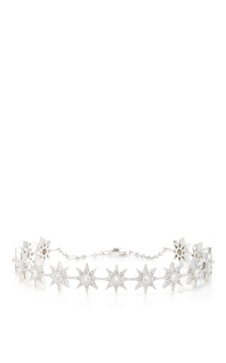 Medium colette jewelry llc silver glow stars cuff bracelet