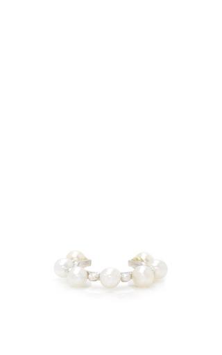 COLETTE JEWELRY | Colette Jewelry Single Massai Multi Pearl Ear Cuff | Goxip