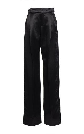 Medium lanvin black high waisted double pleat pants