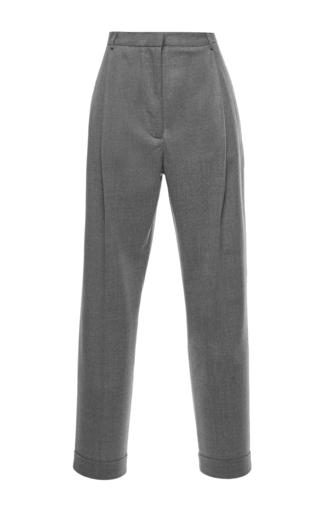 Medium msgm grey high waist cuffed pants