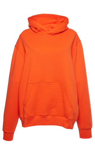 Medium msgm orange logo sweatshirt