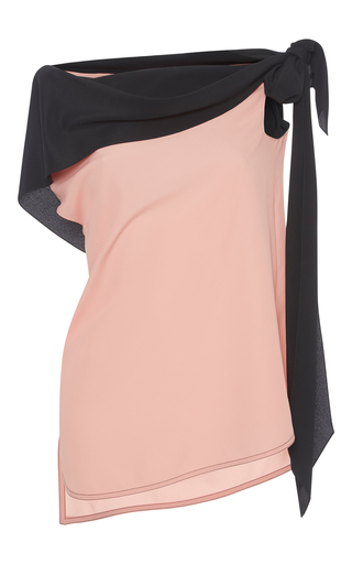 Medium marni pink off the shoulder top with tie