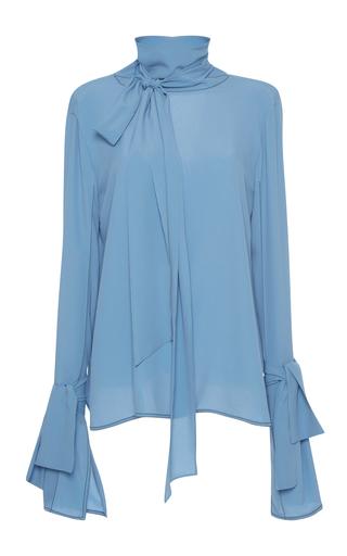 Medium marni blue long sleeve blouse