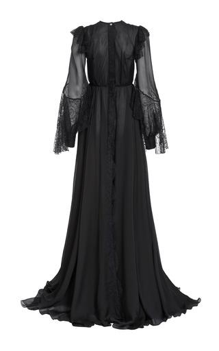 Medium lana mueller black angetina lace gown