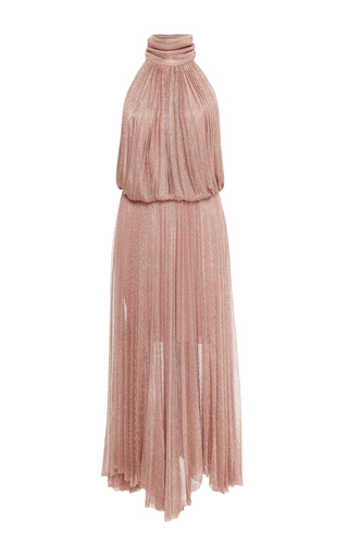 Medium maria lucia hohan neutral ballari halter dress