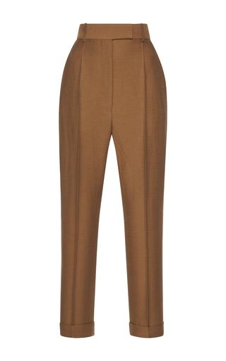 Medium haider ackermann brown classic high waist pant