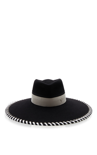 Medium maison michel black pina baseball hat