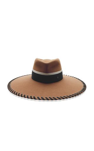 Medium maison michel brown pina baseball hat