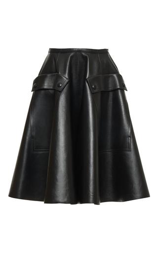 Medium rochas black skater knee length skirt 6