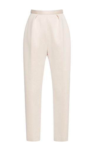 Medium delpozo neutral pencil neoprene pants