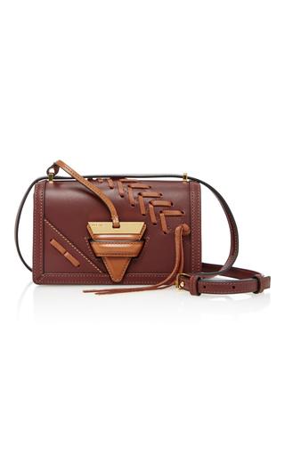 Medium loewe brown barcelona leather shoulder bag