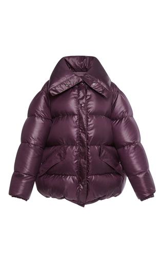 Medium nina ricci purple puffer coat