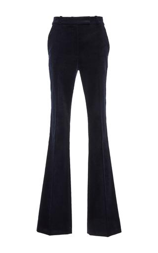 Medium martin grant navy high waisted flared trousers