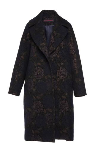 Medium martin grant print brocade cocoon coat