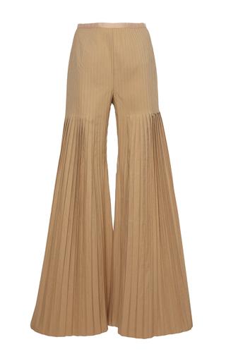 Medium huishan zhang neutral mariela pleated trousers