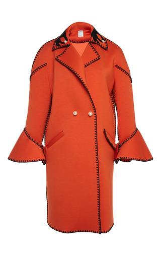 Medium huishan zhang red nikki cocoon coat
