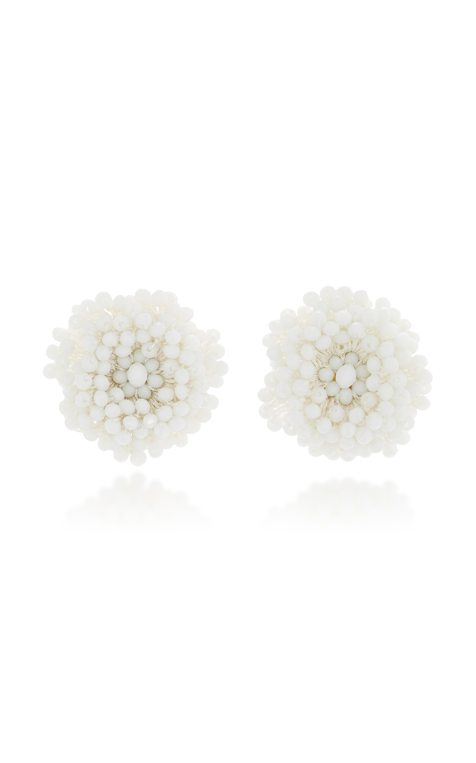 modesens baublebar beaded product white drop earrings capella triple hoop