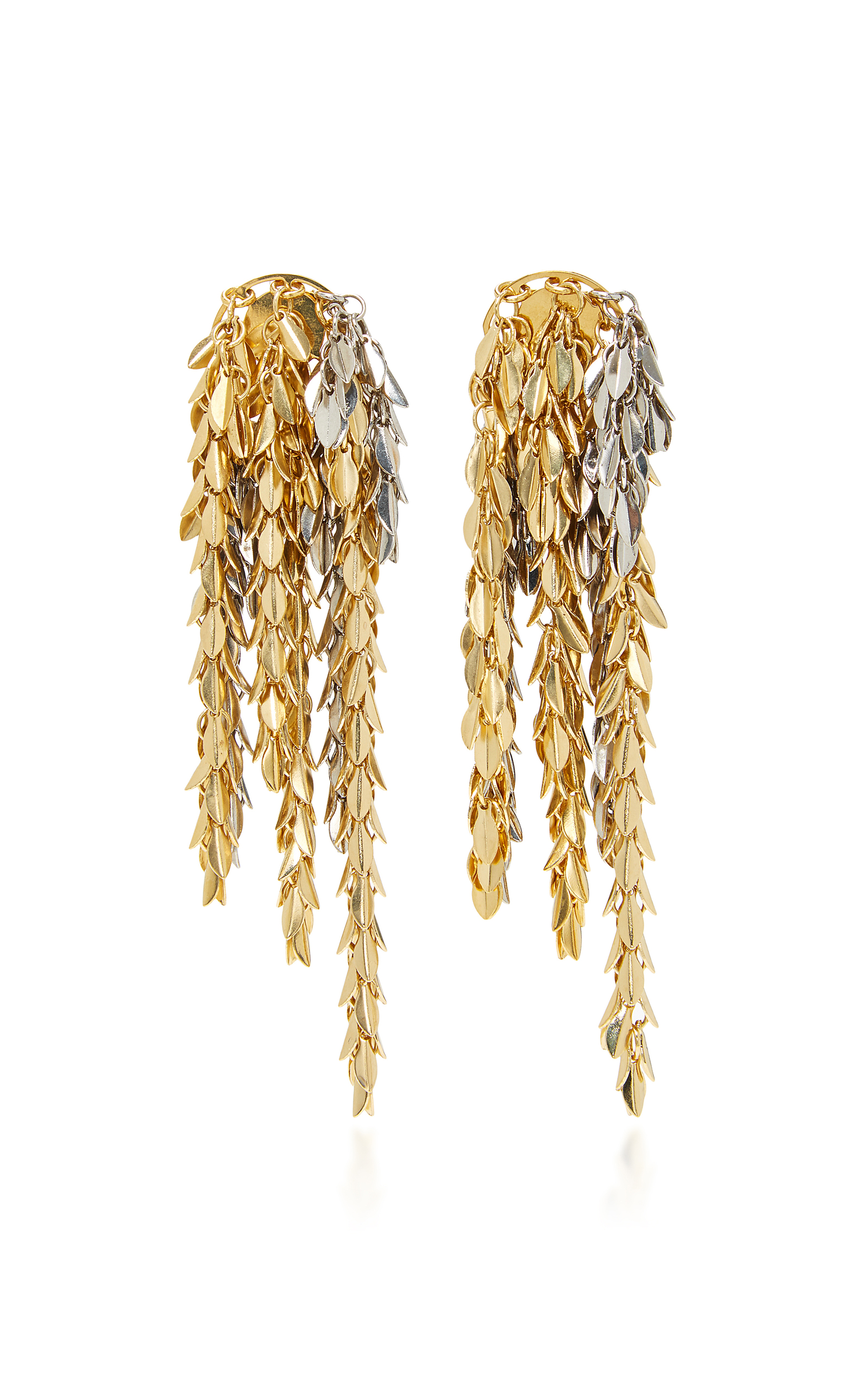 Women Fashion Jewelry Gold Tone Earrings Close Loading