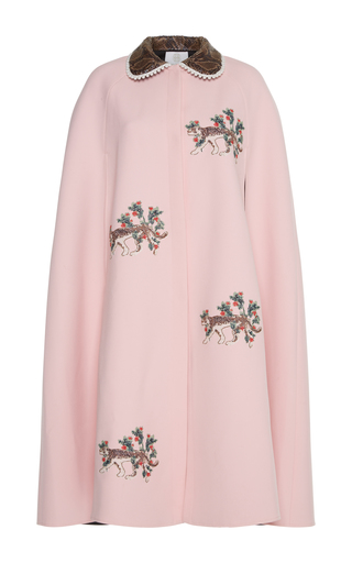 Rema Embroidered Cape By Zayan The Label  Moda Operandi