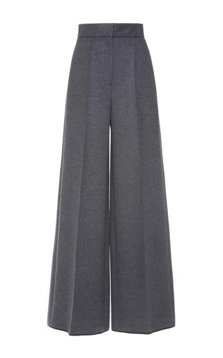 Medium dice kayek grey wool wide leg pants