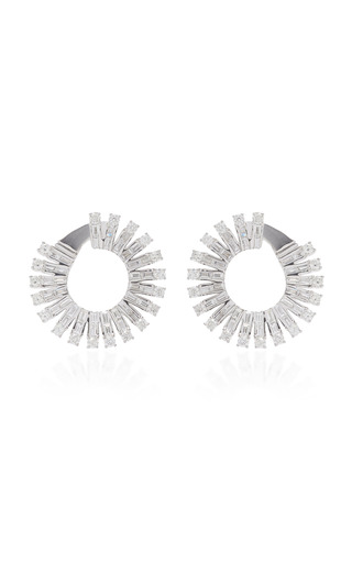 Medium anita ko silver ava hoops