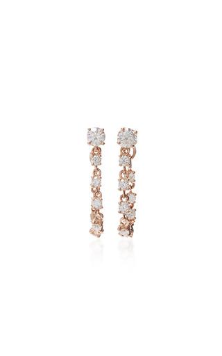 Medium anita ko pink loop earrings