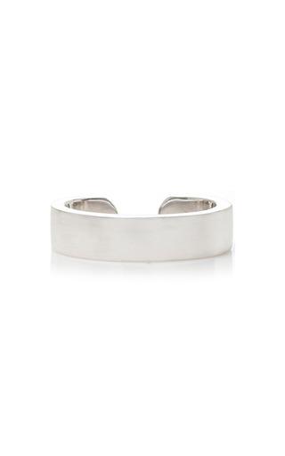 Medium anita ko silver double row plain ear cuff
