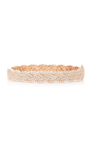 Medium anita ko pink braid bracelet