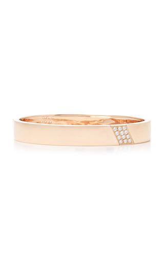Medium anita ko pink three row diamond diagonal bangle